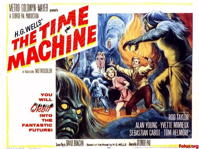 El tiempo en sus manos cartel poster the time machine 1960 original
